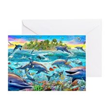 Dolphin Reef Greeting Cards (Pk of 20)