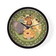 Jungle Safari Wall Clock