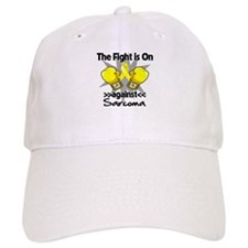 Fight is On Sarcoma Baseball Cap