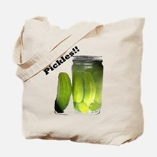Funny Oh Pickles! Tote Bag