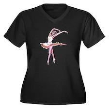 Ballet dance design Women's Plus Size T-Shirt