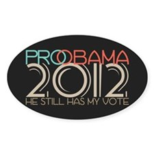 Probama 2012 Decal