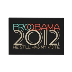 Probama 2012 Rectangle Magnet (100 pack)