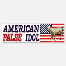 False American Idol Bumper Bumper Bumper Sticker