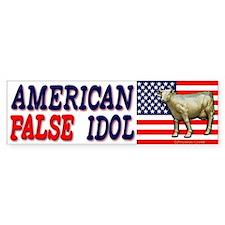 False American Idol Bumper Bumper Sticker