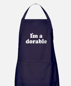 I'm Adorable Apron (dark)