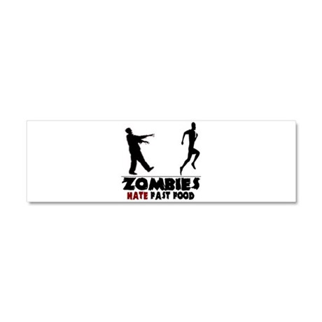 Funny Zombies Car Magnet 10 x 3