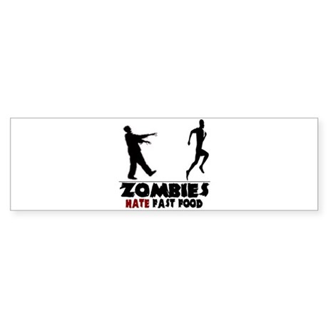 Funny Zombies Sticker (Bumper)