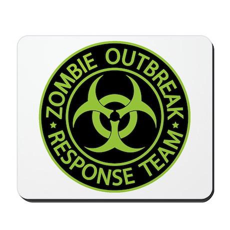 Zombie Apocalypse Mousepad