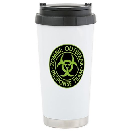 Zombie Apocalypse Stainless Steel Travel Mug