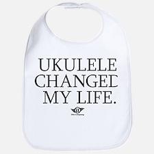 Ukulele Changed My Life Bib