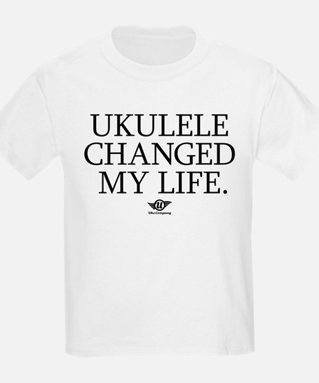 Ukulele Changed My Life T-Shirt