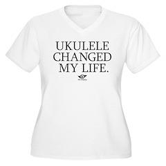 Ukulele Changed My Life T-Shirt