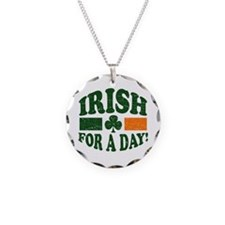 Irish for a day Necklace Circle Charm