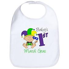Baby First Mardi Gras Bib