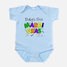 Baby 1st Mardi Gras Infant Bodysuit