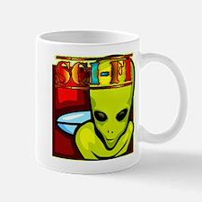 Sci Fi Alien Mug