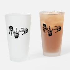mw3 gangsta 2 Drinking Glass