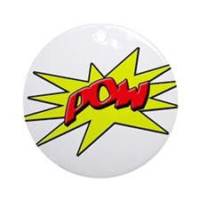 pow Ornament (Round)
