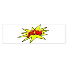 pow Bumper Sticker
