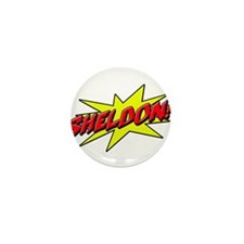 sheldon star Mini Button (100 pack)