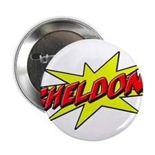 "sheldon star 2.25"" Button"