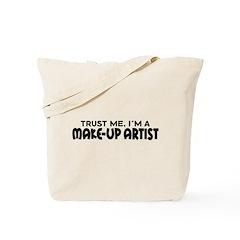 Funny Make-Up Artist Tote Bag