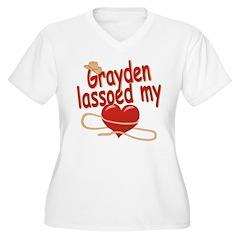 Grayden Lassoed My Heart T-Shirt