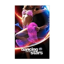 Dancing with the Stars Mini Poster Print