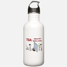 TSA: Touchin' Feelin' Arresti Water Bottle