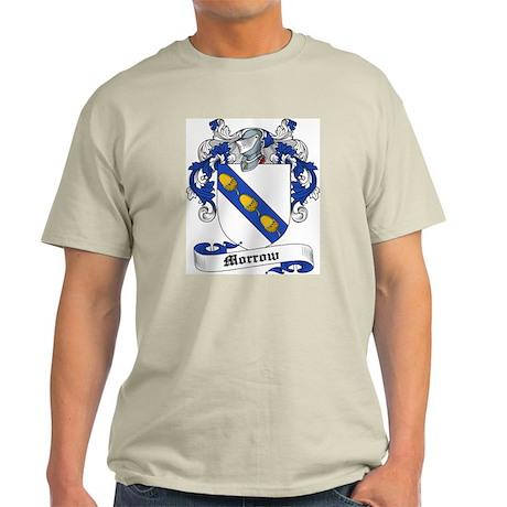 Morrow Coat of Arms Ash Grey T-Shirt