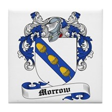 Morrow Coat of Arms Tile Coaster