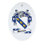 Morrow Coat of Arms Oval Ornament