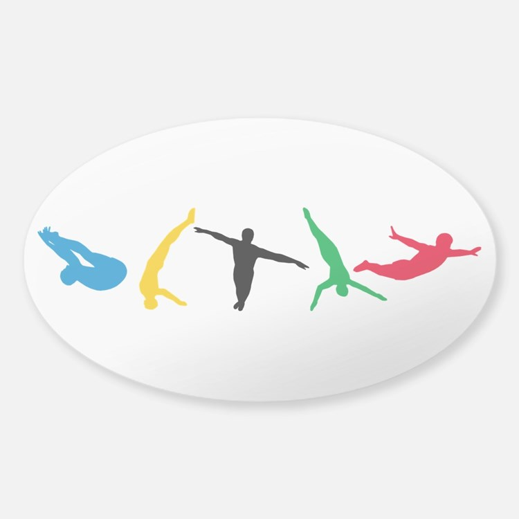 Diving Divers Decal