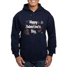 Happy Valentine's Day Retro Hoodie