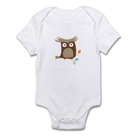 Tree Tops Owl Infant Bodysuit