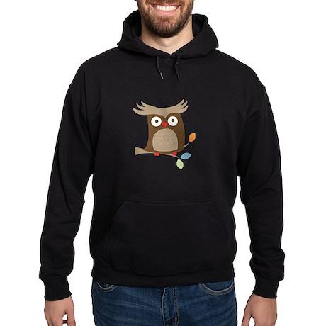 Tree Tops Owl Hoodie (dark)