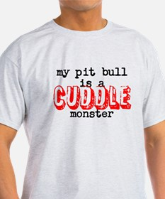 My Pit Bull Is... T-Shirt