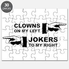 Clowns & Jokers Puzzle