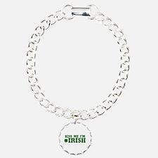 Kiss Me I'm Irish Bracelet