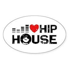 I Love Hip House Decal