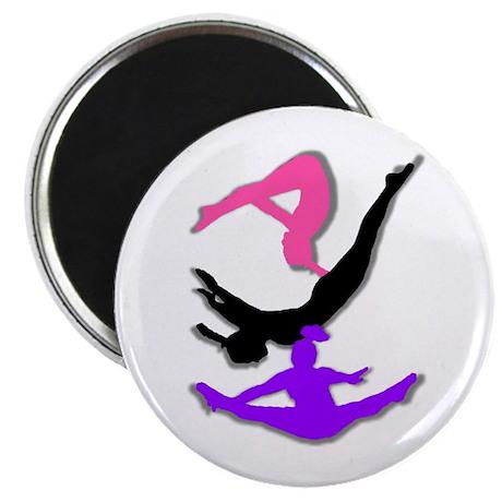 Trampoline Gymnast Magnet