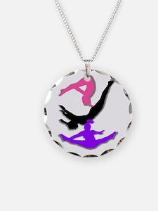 Trampoline Gymnast Necklace