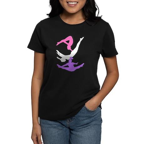 Trampoline Gymnast Women's Dark T-Shirt