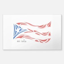 Mi Isla - Pr Flag Sticker (rectangle)