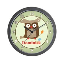Tree Tops Owl Wall Clock - Dominick