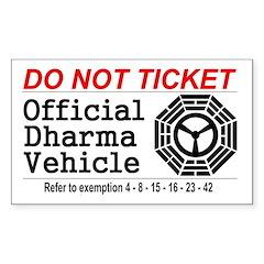 Dharma Vehicle Decal