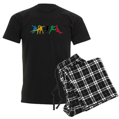 Handball Men's Dark Pajamas