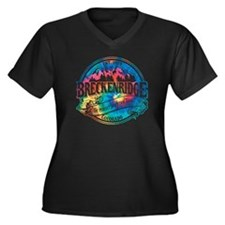 Breck Old Circle Perfect Women's Plus Size V-Neck