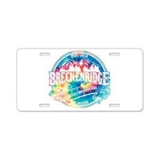 Breck Old Circle Perfect Aluminum License Plate